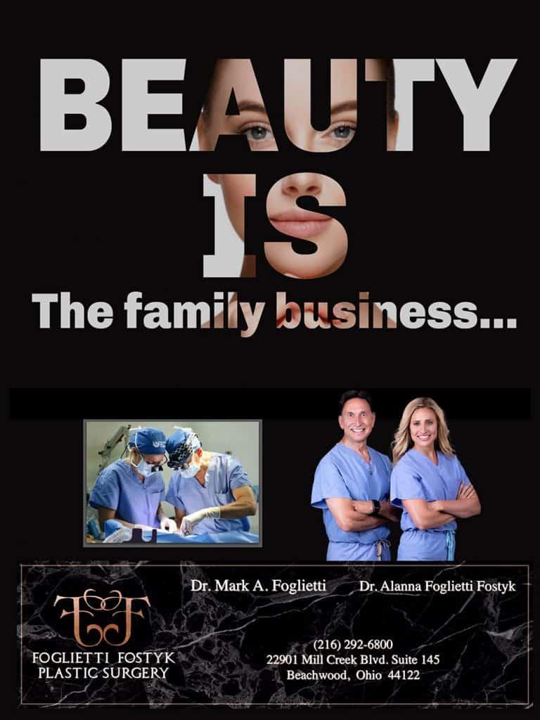 Foglietti Fostyk Plastic Surgery Flyer